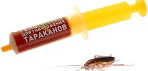 Средства от тараканов в шприце (гели): обзор препаратов и нюансы их применения