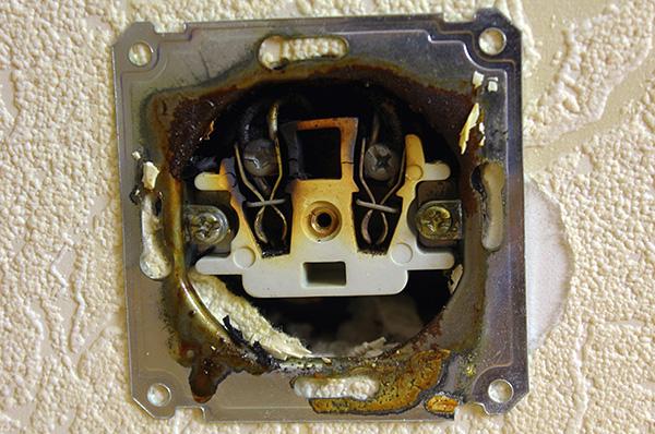 Клопы могут проникать в квартиру от соседей через электрические розетки.