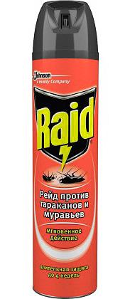 Аэрозоль от тараканов Raid