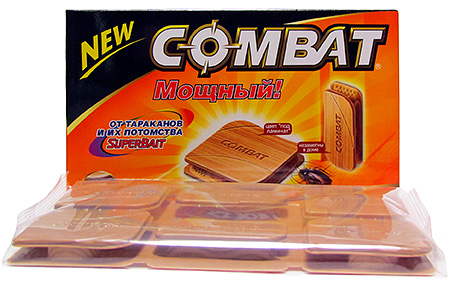 Пример: ловушки для тараканов Комбат