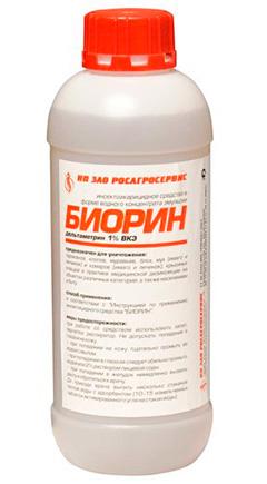 Еще один препарат от постельных клопов Биорин