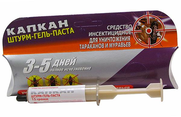 Штурм-гель-паста от тараканов
