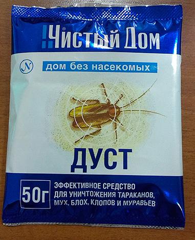 дуст от тараканов инструкция - фото 11