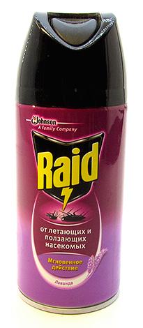 Аэрозольное средство от насекомых Raid