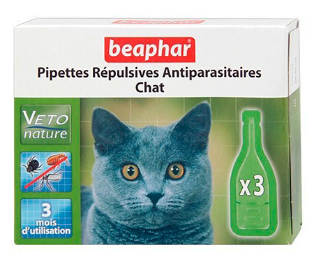 Капли от блох Beaphar