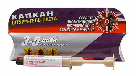 Штурм гель-паста от тараканов