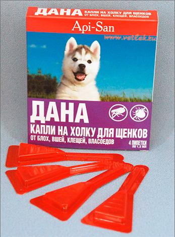 Дана: капли на холку для щенков