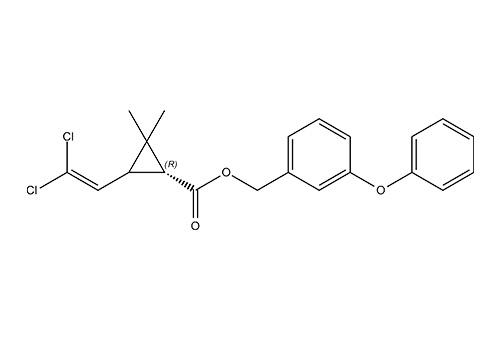 Перметрин: химическая структура