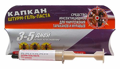 Гель-паста Штурм для уничтожения тараканов и муравьев