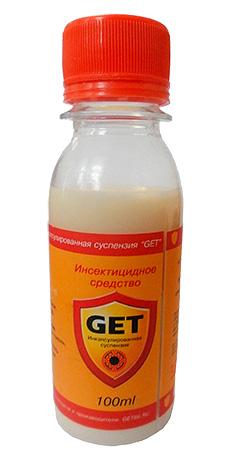 Инсектицидное средство Get, изготовлено по технологии микрокапсулирования