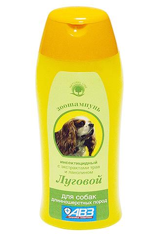 В составе шампуня Луговой, кроме инсектицида, имеются экстракты трав и ланолин