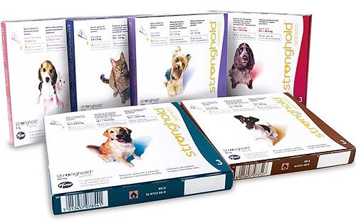 Капли Stronghold от блох для собак считаются одними из наиболее эффективных