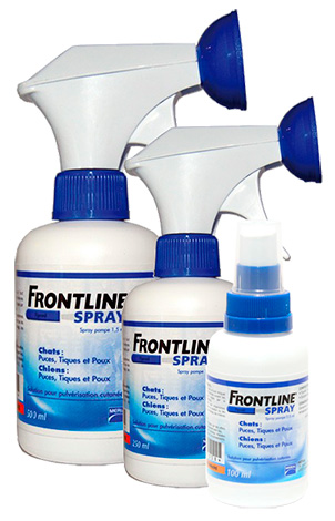 Спреи от блох Frontline