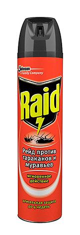 Аэрозоль Рейд от тараканов и муравьев