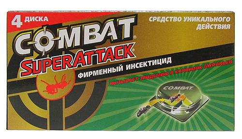 Ловушки для муравьев Комбат Суператтак
