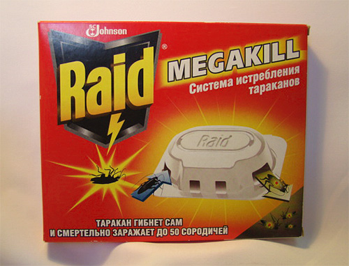 Ловушки для насекомых Raid