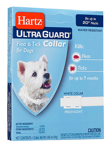 Ошейник от блох Hartz UltraGuard Flea & Tick Collar