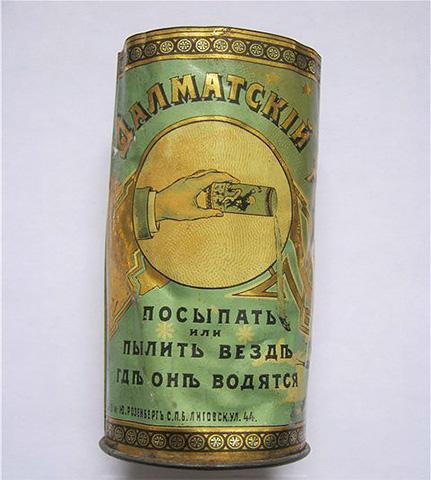 Порошок пиретрума когда-то называли далматским порошком