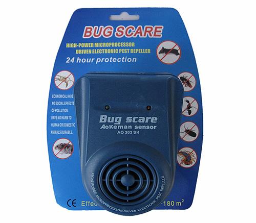 Домашние муравьи практически не реагируют на присутствие ультразвукового отпугивателя