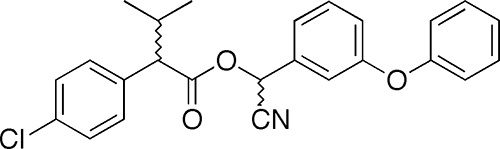В составе порошка Фенаксин - пиретроид фенвалерат