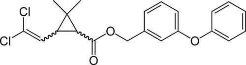 В составе дуста Риапан - пиретроид Перметрин
