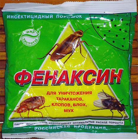 В составе дуста Фенаксин - достаточно малотоксичный инсектицид фенвалерат