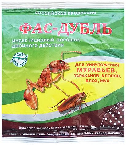 Дуст Фас-дубль от насекомых похож по действию на Фенаксин