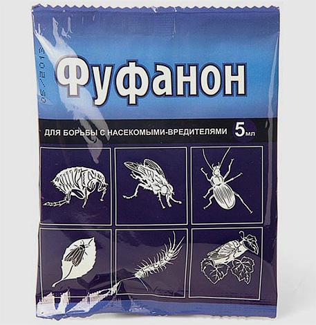 Фуфанон содержит в составе тот же инсектицид малатион, что и Карбофос