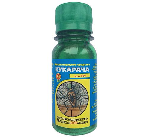 Инсектицидное средство кукарача от комаров инструкция