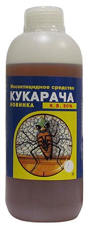 Средняя цена на средство от клопов Кукарача составляет примерно 170 рублей за 50 мл и 1500 рублей за 1 л