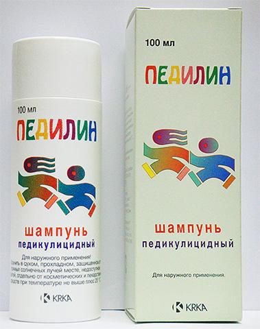 Если использовать специальный шампунь от вшей Педилин, то и вычесать паразитов с волос потом будет гораздо легче