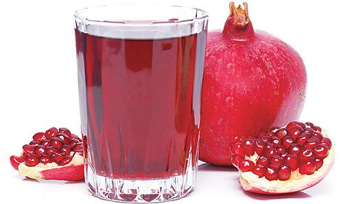 Гранатовый сок - популярное народное средство от вшей