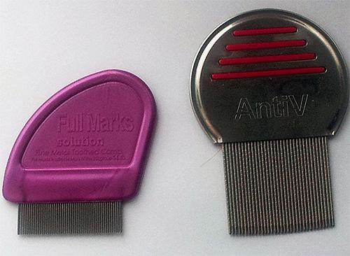 Современные гребни от вшей позволяют вычесывать не только собственно насекомых, но и гнид из волос