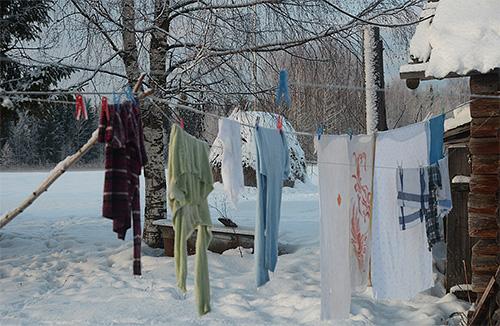 Вымораживание одежды - весьма эффективный способ избавления от бельевых вшей