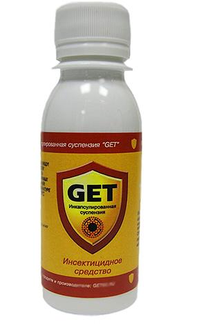 Микрокапсулированное средство от насекомых Get