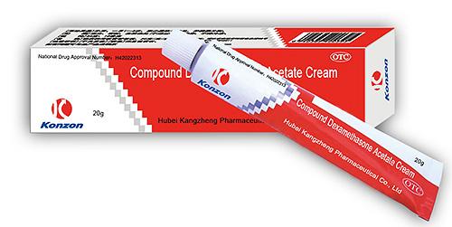 Снять зуд от укуса можно попробовать средством Compound Dexamethasone Acetate Cream