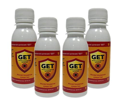 Средство Get можно использовать и для борьбы с подвальными блохами