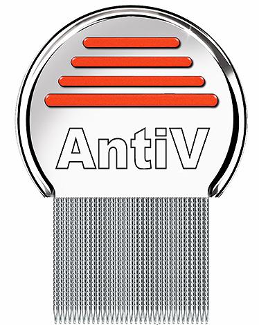Специальный гребень для вычесывания вшей и гнид AntiV