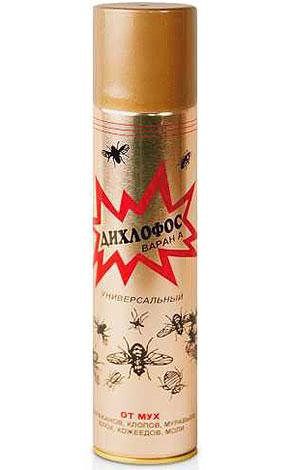 В современных марках Дихлофоса отсутствуют фосфорорганические инсектициды