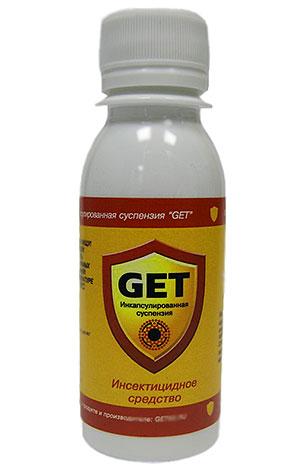 Микрокапсулированный препарат от насекомых Get