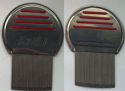 Гребень AntiV для вычесывания вшей и гнид