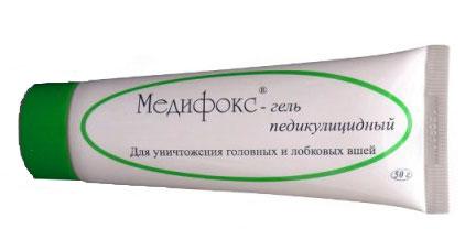 Так выглядит Медифокс-гель в тюбике на 50 граммов