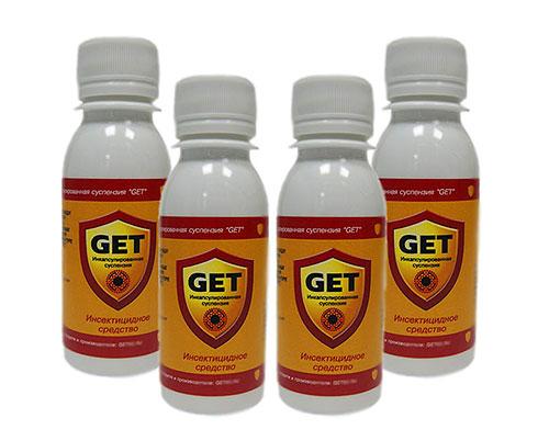 Инсектицидное средство Get имеет ряд существенных преимуществ по сравнению со многими другими препаратами
