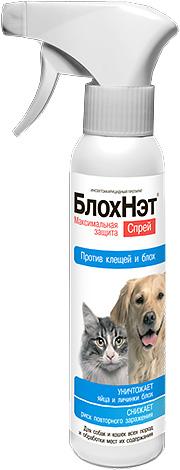 Спрей Блохнэт для обработки собак и кошек