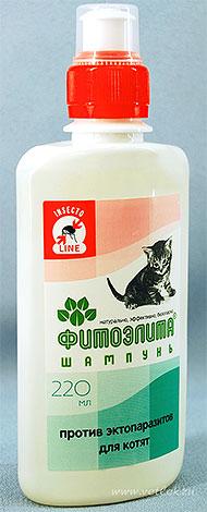 Шампунь Фитоэлита от блох для котят
