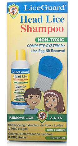 Ослабить крепление гнид к волосам можно с помощью шампуня LiceGuard
