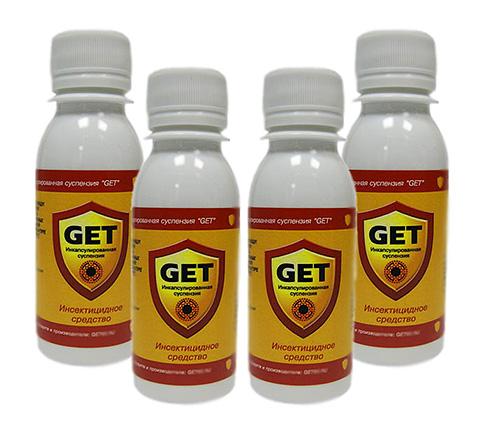 Инсектицидное средство Get (эффективно как от клопов, так и от тараканов)