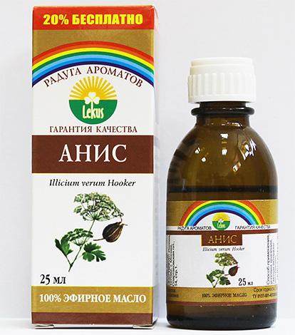Как и другие эфирные масла, анисовое масло способно лишь несколько замедлить процесс размножения вшей.