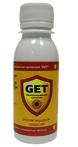 Микрокапсулированное средство от насекомых Get - эффективно уничтожает и блох