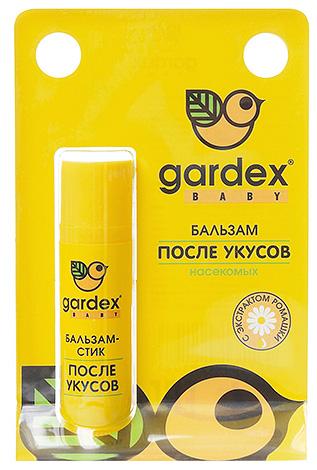 Бальзам Gardex Baby подойдет в качестве первой помощи, если вашего ребенка укусил, например, комар